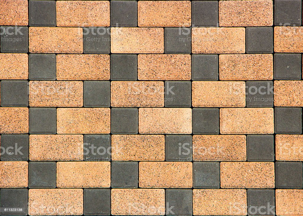 concrete pavers with the texture of the cube stock photo more
