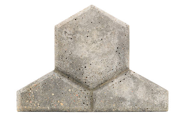 Concrete Paving Tile stock photo