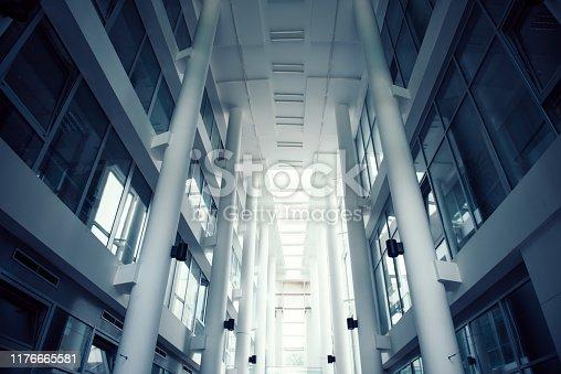 istock Concrete pillars 1176665581