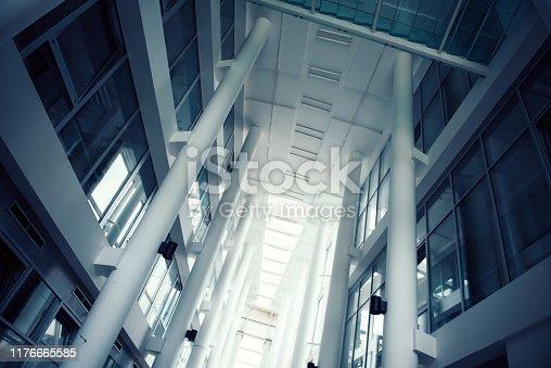 istock Concrete pillars 1176665585