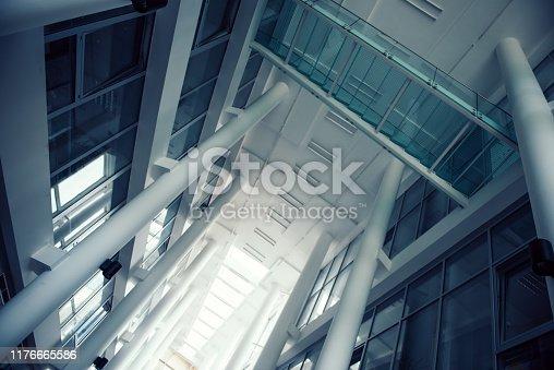 istock Concrete pillars 1176665586