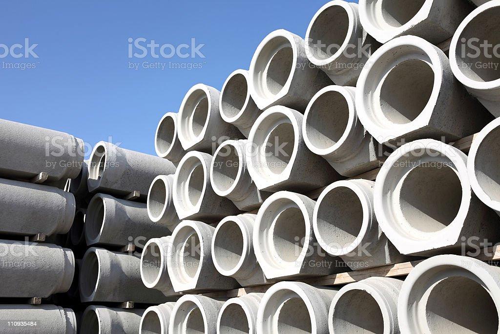 Concrete pipe - Lizenzfrei Abfluss Stock-Foto