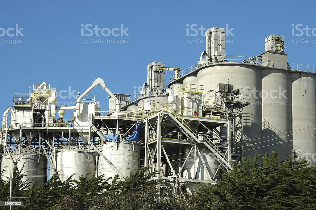 Concrete Plant royalty-free stock photo