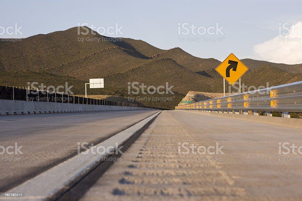 De cemento Road - foto de stock