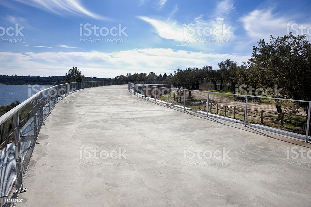 Concrete roof royalty-free stock photo