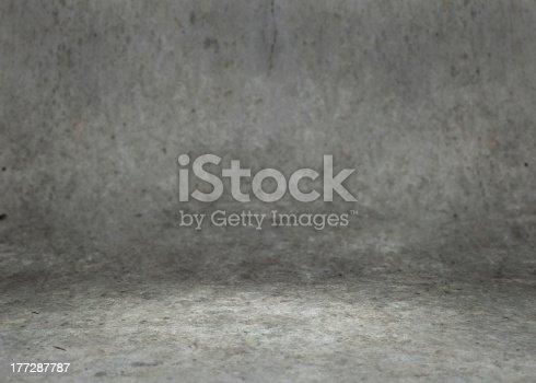 istock Concrete Room 177287787