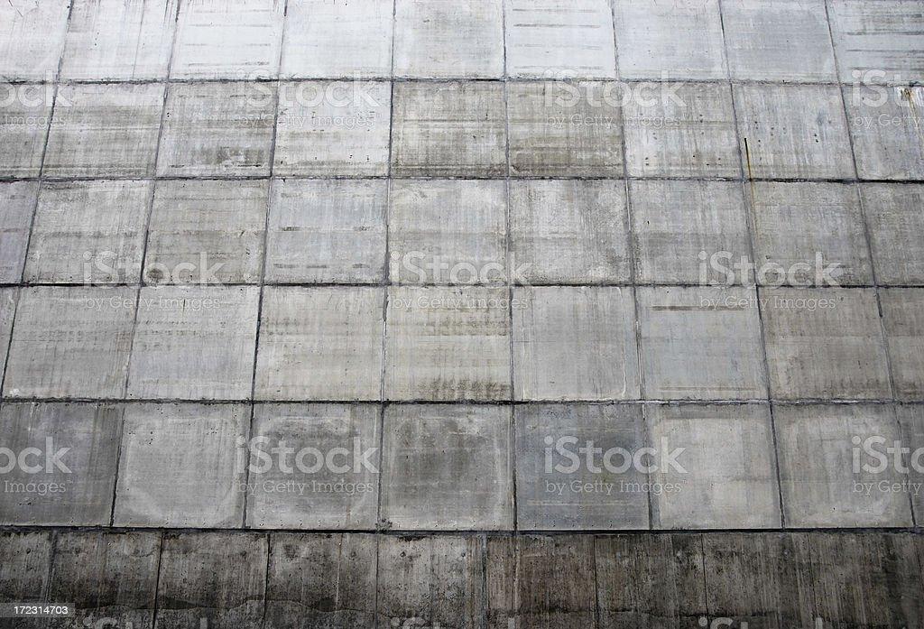 concrete squares royalty-free stock photo