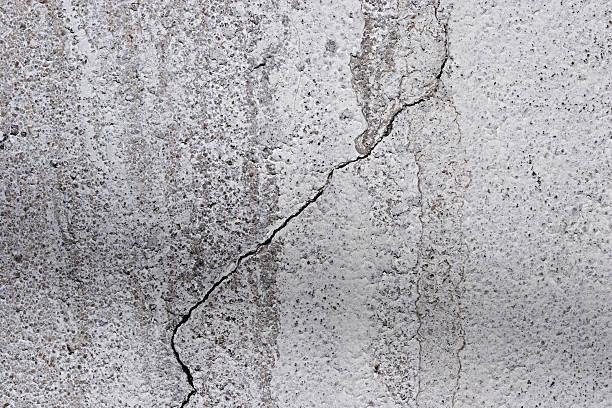 Beton Boden mit Rissen – Foto