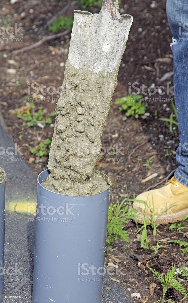 Concrete Testing stock photo