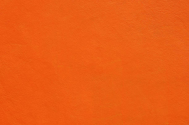 Konkrete Textur Farbe orange – Foto