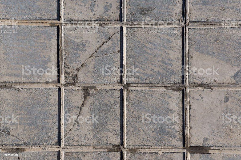 concrete tile for outdoor use Sidewalks, non-slip and wear stock photo