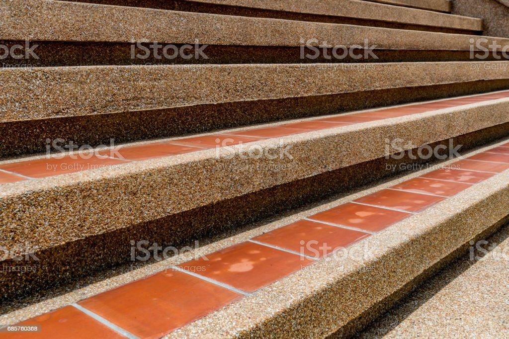 Concrete Tile Staircase zbiór zdjęć royalty-free