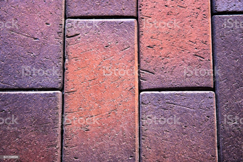 concrete tiled pavement background stock photo