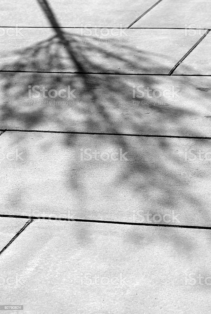 Concrete tree royalty-free stock photo