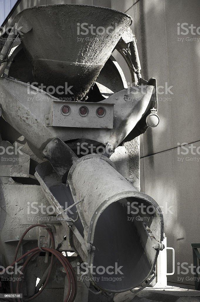 Concrete Truck royalty-free stock photo