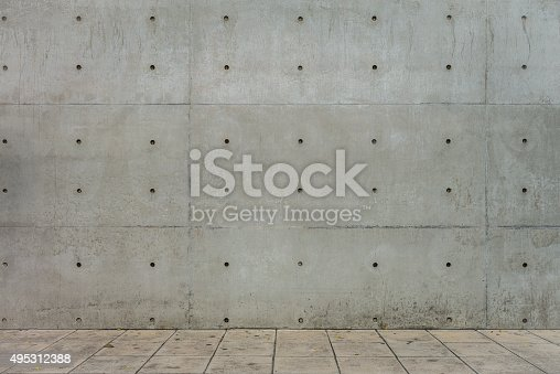 1062261710istockphoto Concrete Wall and Cement Floor for Copy Space 495312388