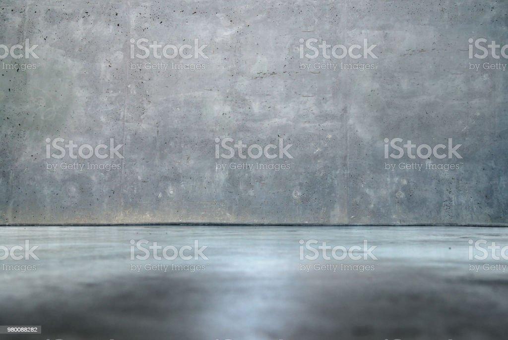 Mur en béton et plancher – intérieur - Photo