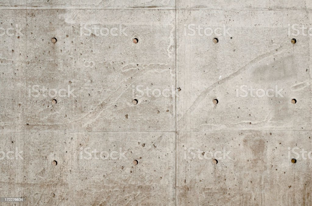 Concrete wall, architectural photo royalty-free stock photo