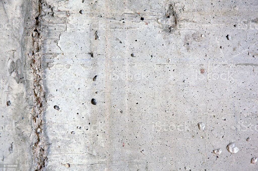 Concrete Wall Close-up royalty-free stock photo