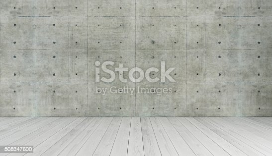 istock concrete wall loft style decor, background 508347600