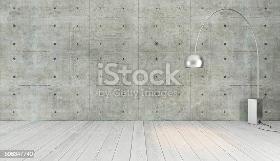 istock concrete wall loft style decor 508347740