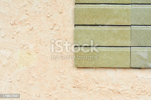 istock Concrete wall of the panel cement 179622531