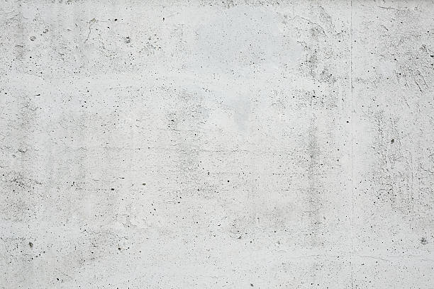 parete di cemento - calcestruzzo foto e immagini stock