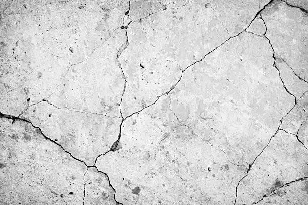 muro di cemento - calcestruzzo foto e immagini stock