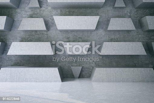 840777964istockphoto Concrete Wall 914022846