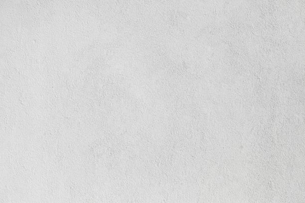 parete di cemento lucido sfondi lisci bianco strutturato - calcestruzzo foto e immagini stock