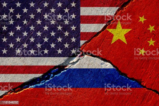 Concrete wall with painted united states china and russia flags picture id1151546202?b=1&k=6&m=1151546202&s=612x612&h=9kizpmebrzlmh2xhgifujsruik1ox2zmyl jfdmyeu0=