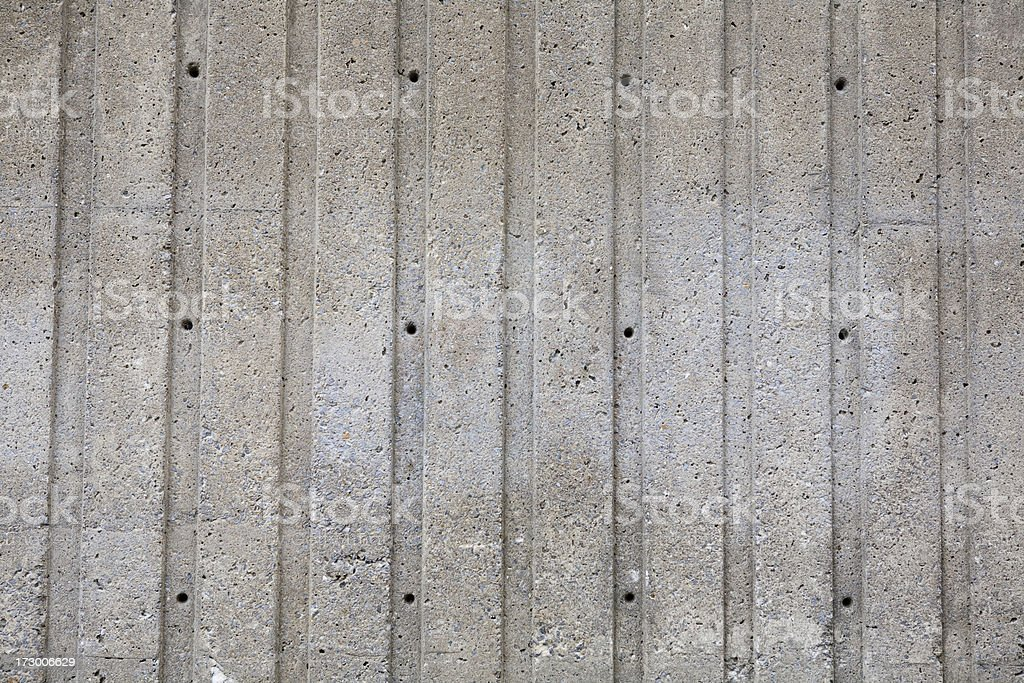 Concrete wall with pattern for background royalty-free stock photo