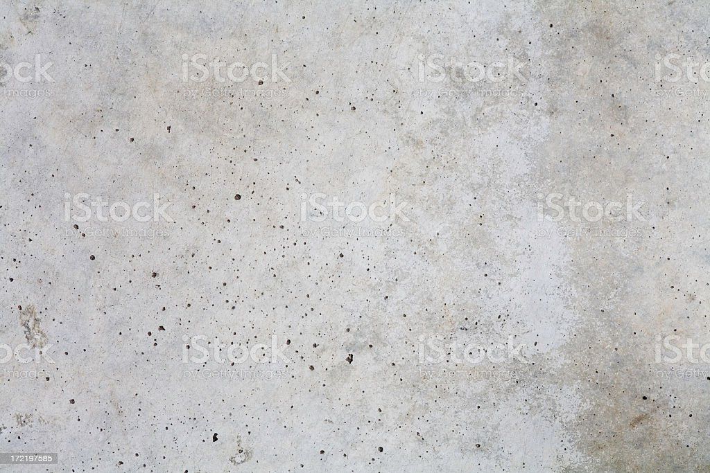 Concrete with scattered black specks of impurities royalty-free stock photo