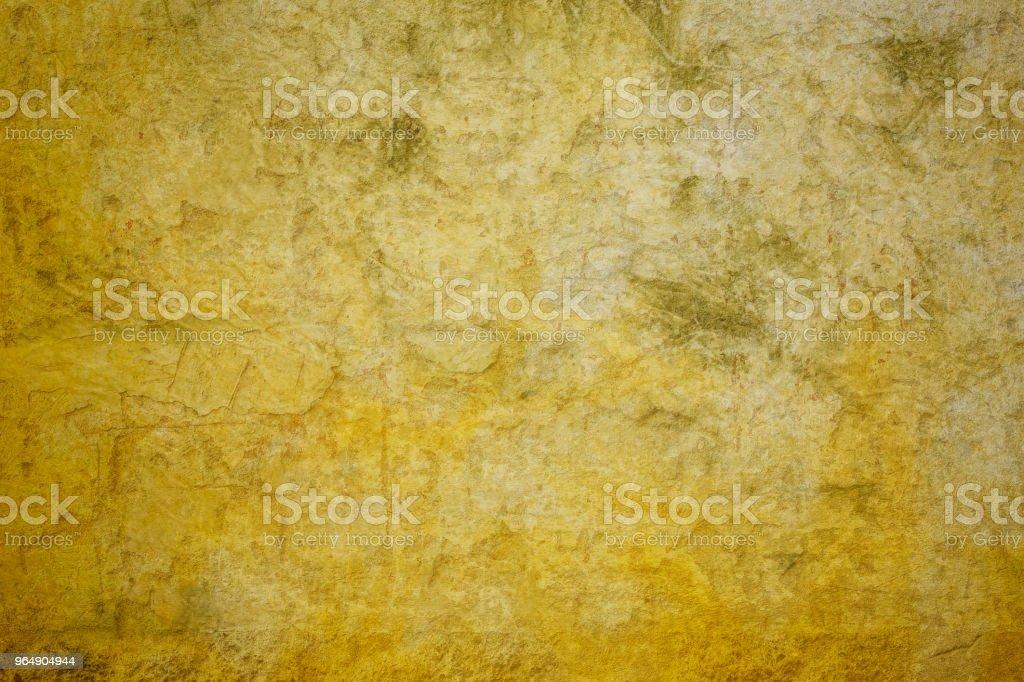 Concrete yellow wall royalty-free stock photo