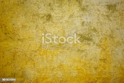 Concrete Yellow Wall Stock Photo & More Pictures of Backdrop - Artificial Scene