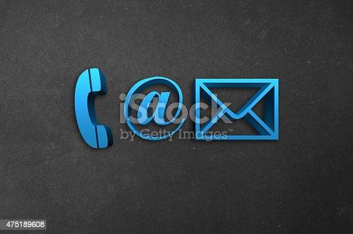 istock Conctact Info Symbols 475189608