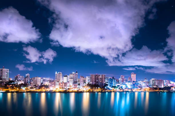 Condado Beach San Juan Puerto Rico stock photo