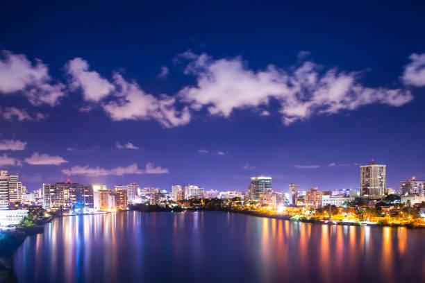 Condado Beach San Juan Puerto Rico stock photo