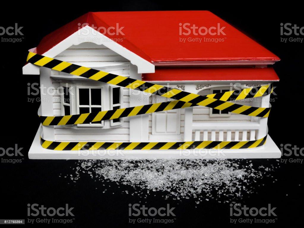 Condenado Medicamento Contaminado Concepto Casa Nueva Zelanda Nz ...