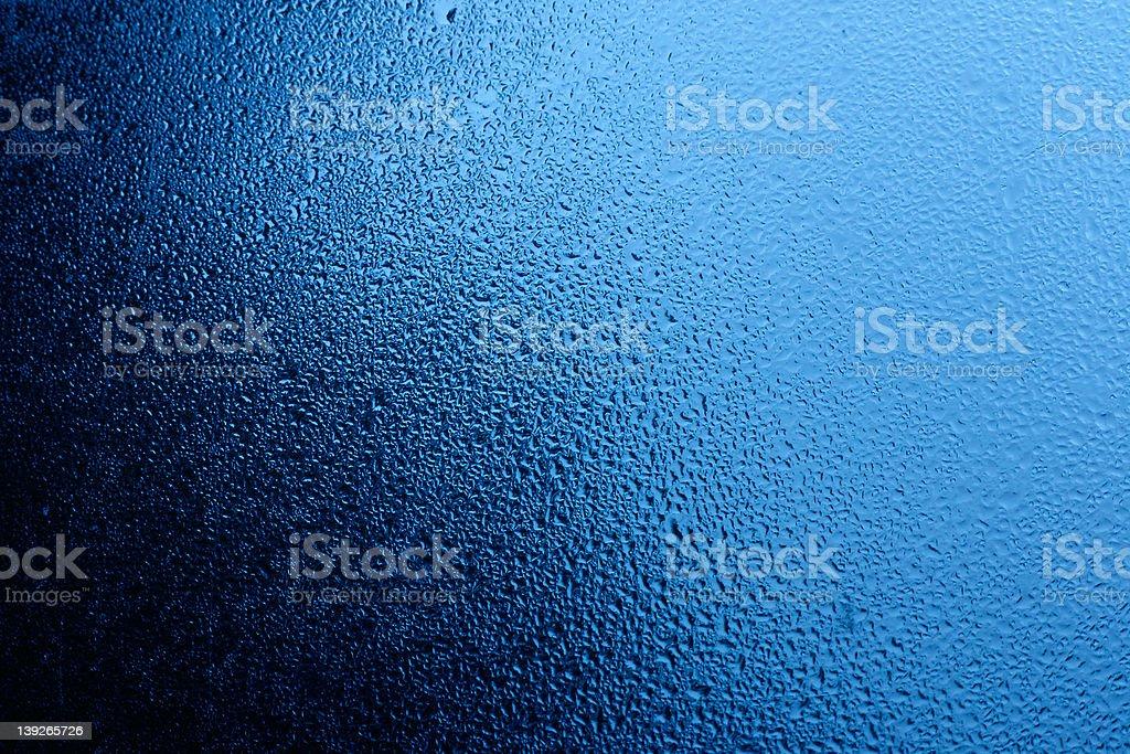 condensed moist on window royalty-free stock photo
