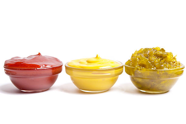 Condiments stock photo
