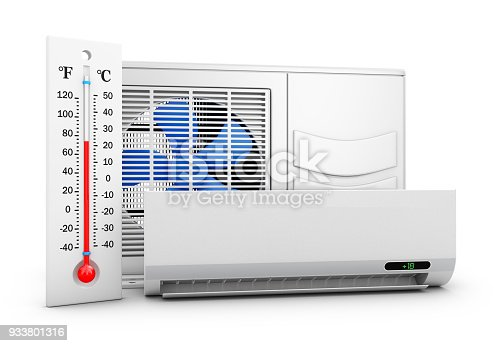 istock conditioner and thermomete 933801316