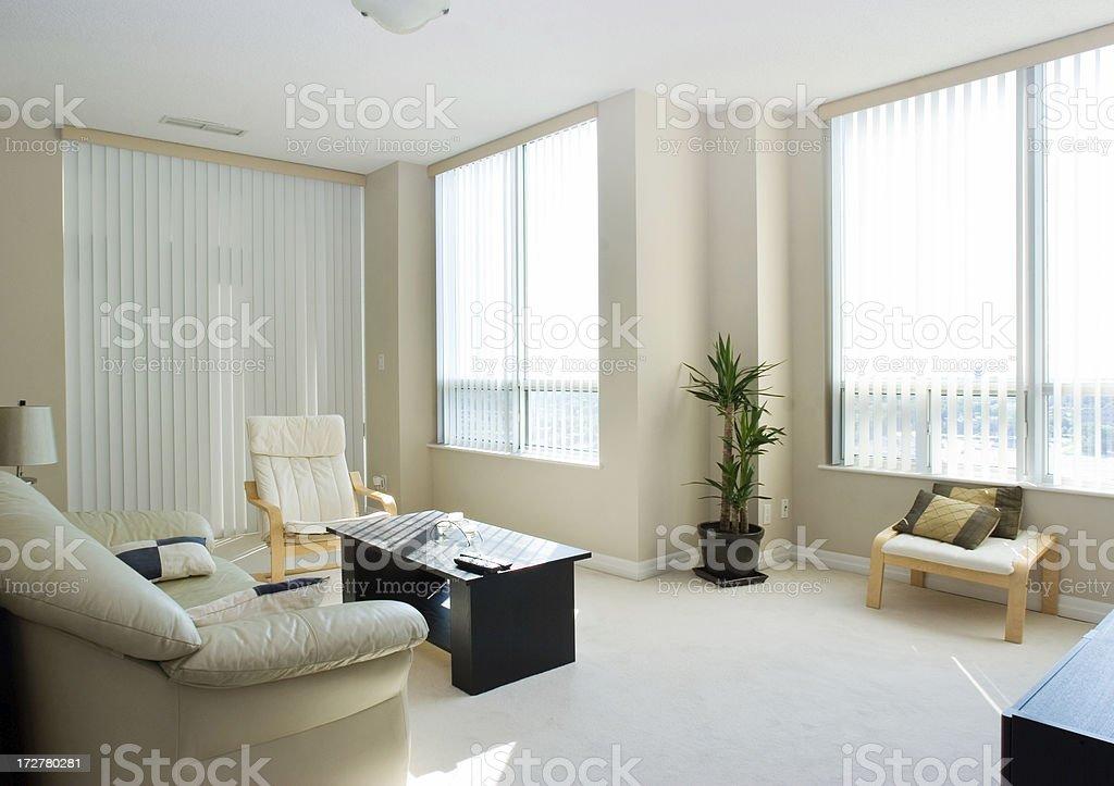 Condo appartment royalty-free stock photo