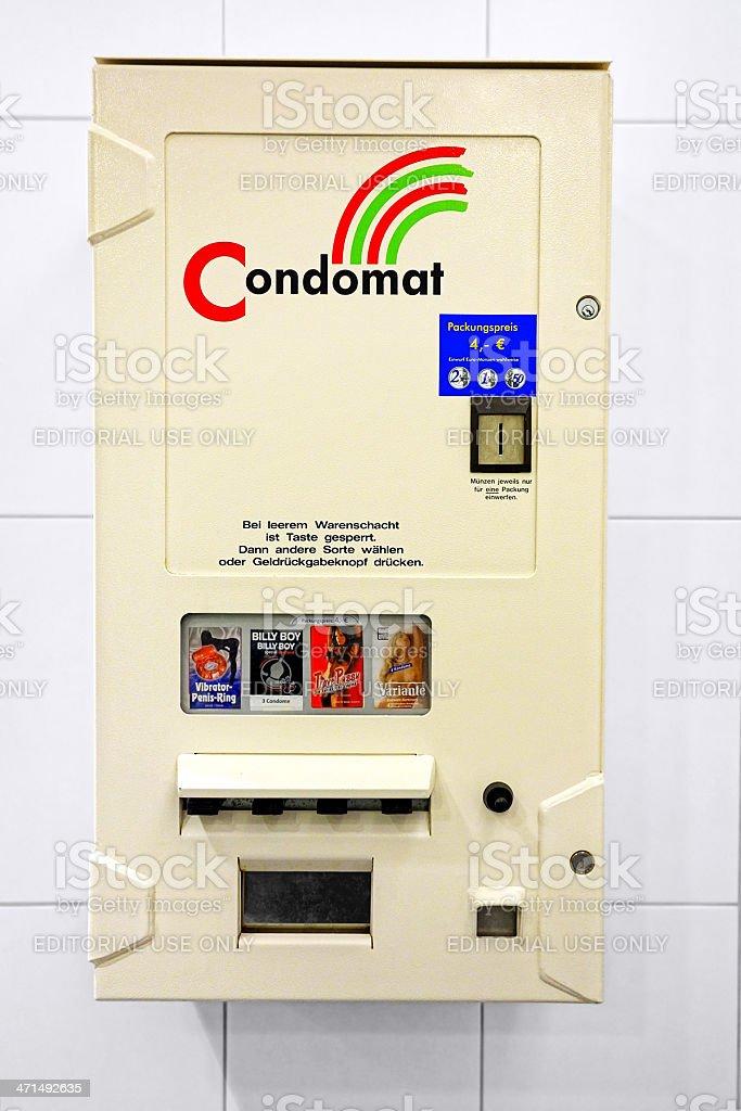 condom automat royalty-free stock photo