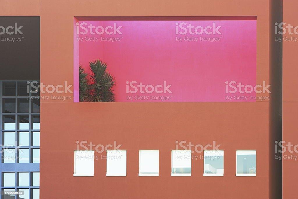 Condominium Apartment Porch Balcony stock photo