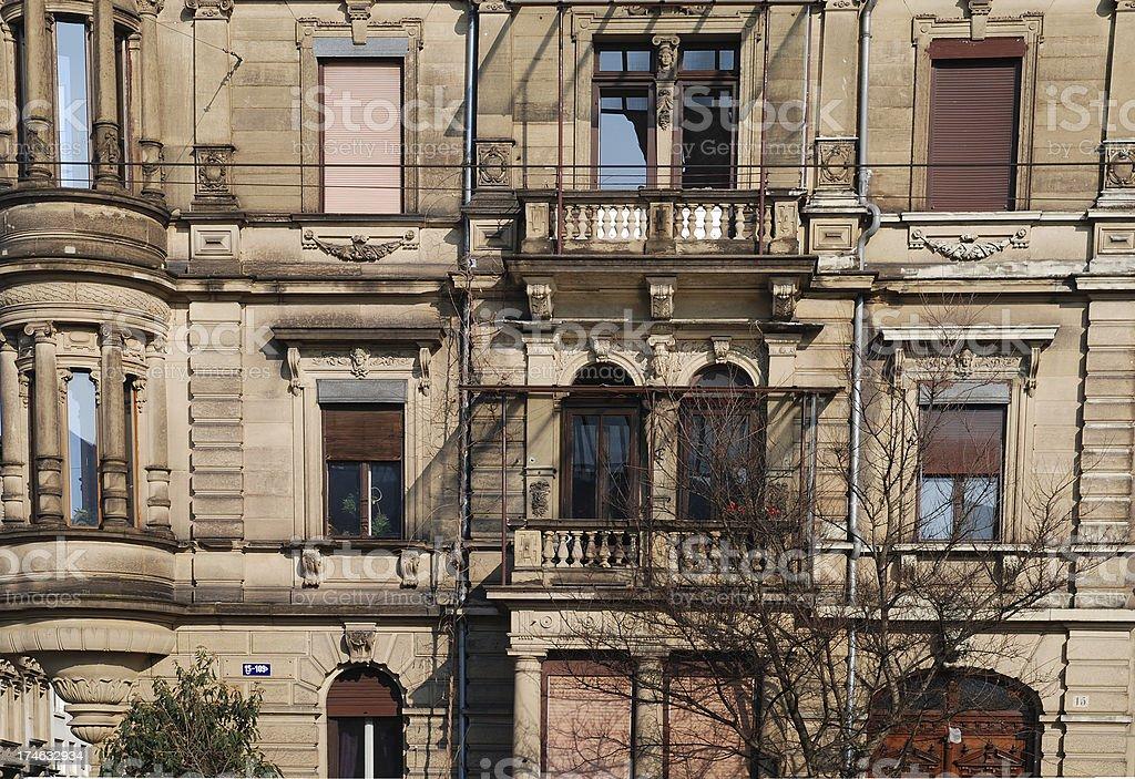 condominium appartment house royalty-free stock photo