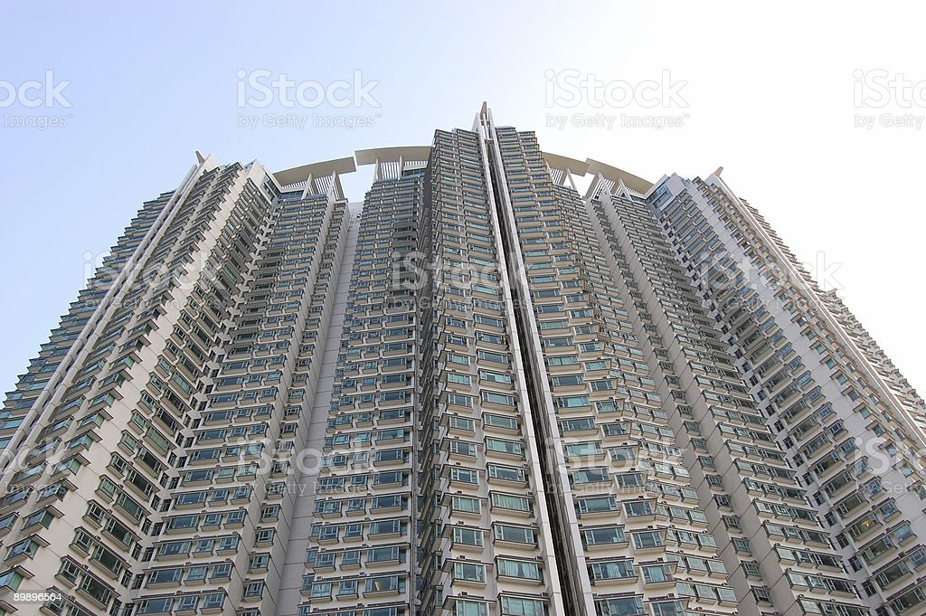 Edificio de apartamentos foto de stock libre de derechos