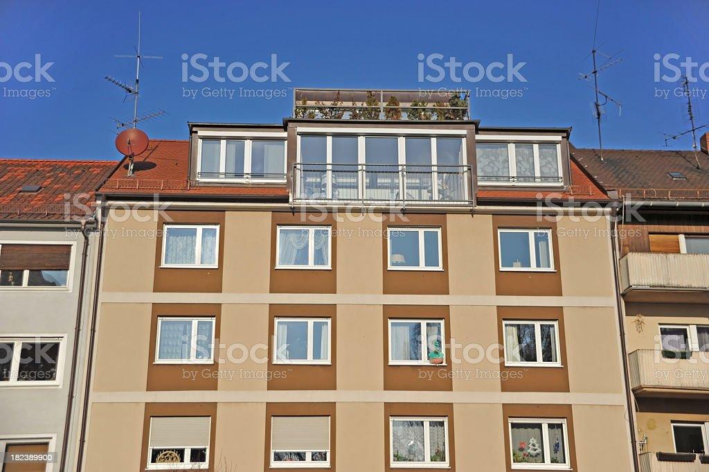 condominium - cheap flats royalty-free stock photo