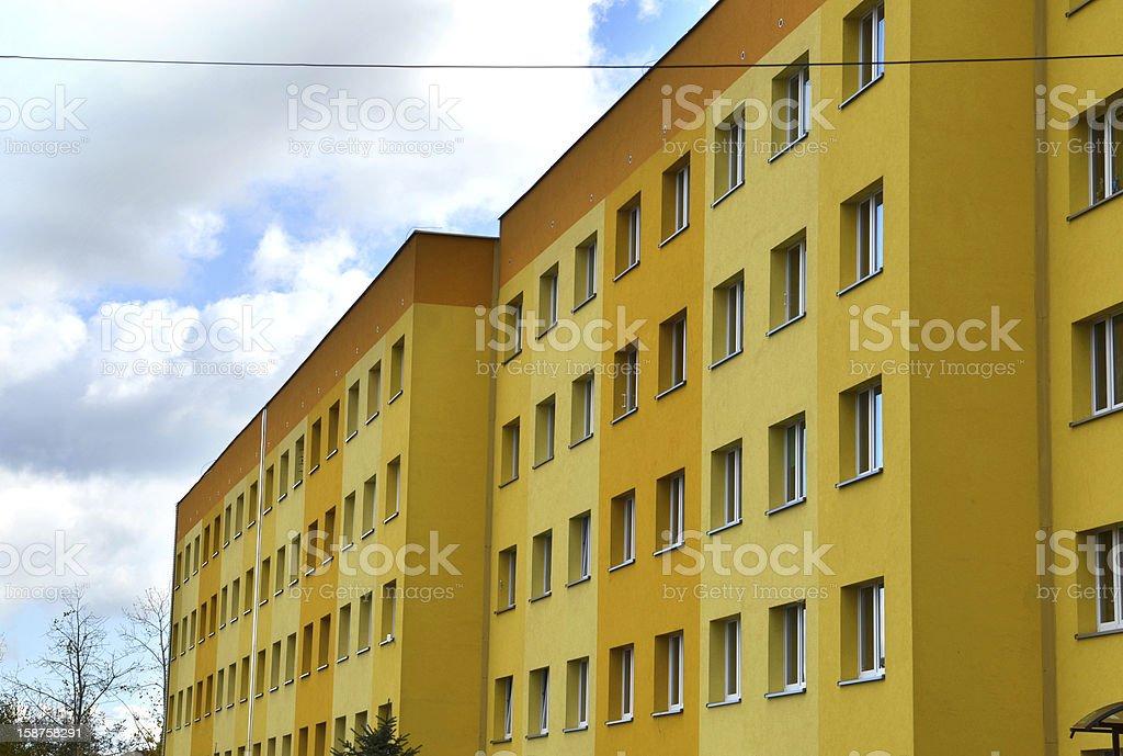 Condominium royalty-free stock photo