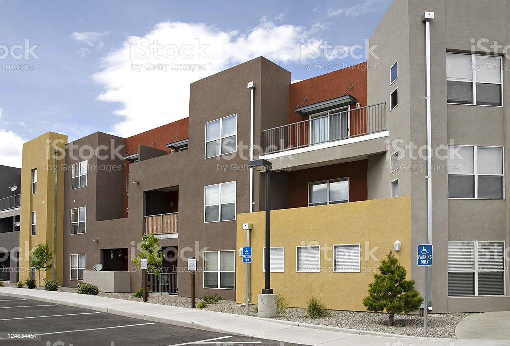 Condominiums, Apartments and Urban Housing stock photo